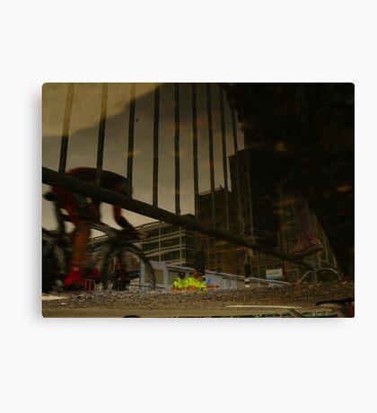 Reflections of Amsterdam - Giro d'Italia Canvas Print