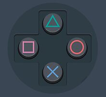 PlayStation Controller Buttons by dudsbessa