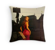 Reflections of Amsterdam - Just Jenny Throw Pillow