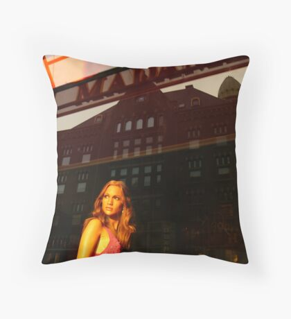 Reflections of Amsterdam - Jenny from the Block Throw Pillow