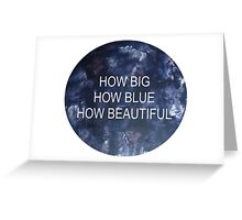 florence and the machine how big,... Greeting Card