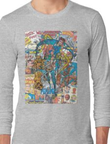 Vintage Comic Fantastic Four Long Sleeve T-Shirt