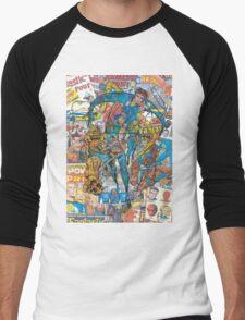 Vintage Comic Fantastic Four Men's Baseball ¾ T-Shirt