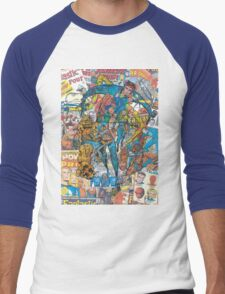 Vintage Comic Fantastic Four Men's Baseball ¾ T-Shirt