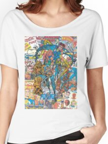 Vintage Comic Fantastic Four Women's Relaxed Fit T-Shirt