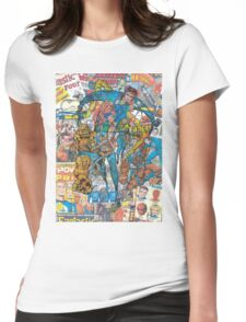 Vintage Comic Fantastic Four Womens Fitted T-Shirt