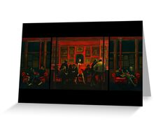 Saturday Night [extended] Greeting Card