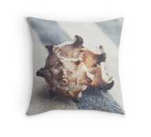 Shell 4 Throw Pillow