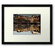 Reflections of Amsterdam - Double Vision Framed Print