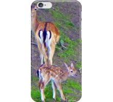 Deer caught on Camera iPhone Case/Skin
