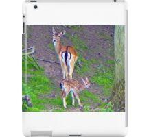 Deer caught on Camera iPad Case/Skin