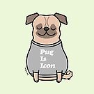 Pug Is Icon by zoel