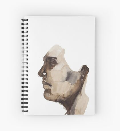 Seated Upright Spiral Notebook