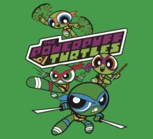 The Powerpuff Turtles Kids Clothes