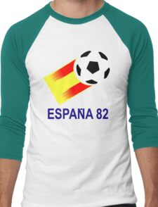A Casual Classic iconic Espana 82 inspired t-shirt design  Men's Baseball ¾ T-Shirt