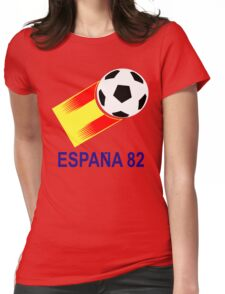 A Casual Classic iconic Espana 82 inspired t-shirt design  Womens Fitted T-Shirt