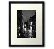 Cobbled Framed Print