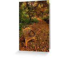 An Australian Country Garden - Mount Wilson, Blue Mountains, Sydney - The HDR Experience Greeting Card