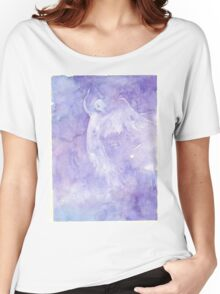 Angel Rising - Flowing Watercolor Women's Relaxed Fit T-Shirt