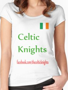 Celtic Knights T-shirt Women's Fitted Scoop T-Shirt