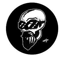 Shaded Skull by zombieCraig