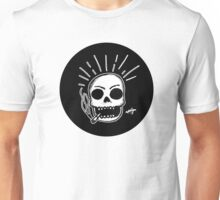 Smoking Skull Unisex T-Shirt