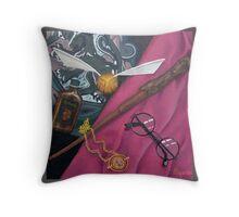 A Wizard's Tools Throw Pillow