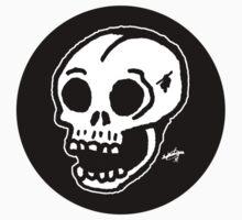 Sharpie Skull by zombieCraig One Piece - Short Sleeve