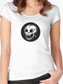Sharpie Skull by zombieCraig Women's Fitted Scoop T-Shirt
