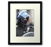 Riot Police  Framed Print