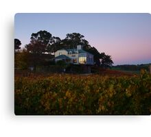 Autumn At Hahndorf Hill Winery Canvas Print