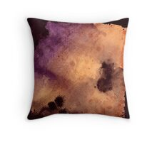 Watercolor: Cherub Rock Throw Pillow