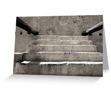 Steps at Tumacacori Greeting Card