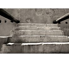 Steps at Tumacacori Photographic Print