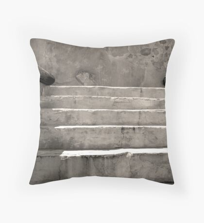 Steps at Tumacacori Throw Pillow