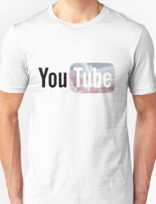 Pastel Sky YouTube Logo Unisex T-Shirt