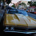 Sleek Yellow Ride  by Jeff Stroud