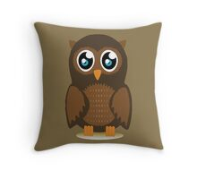 Cute Owl Throw Pillow