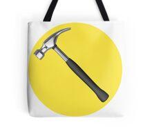 captain hammer symbol Tote Bag