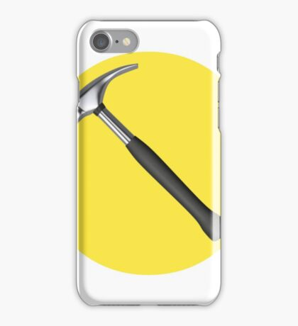 captain hammer symbol iPhone Case/Skin