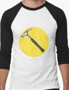 captain hammer symbol Men's Baseball ¾ T-Shirt