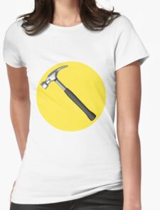 captain hammer symbol Womens Fitted T-Shirt