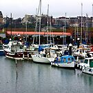 Boats - Scarborough Harbour by Trevor Kersley