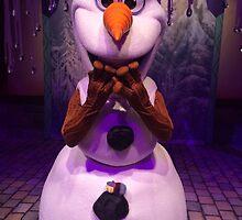 Olaf & baby Kristoff by disneywithbella