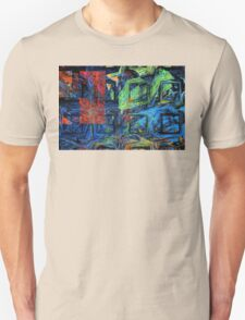 Colorful Psychedelic Abstract Fractal Art T-Shirt