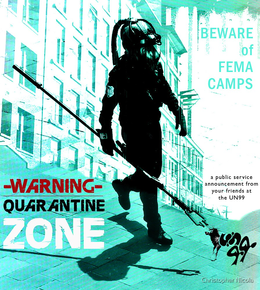 Quarantine Zone 1.0 by Christopher Nicola