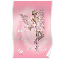 Pink Fae .. fantasy art Poster