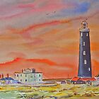 DUNGENESS - The old lighthouse by Beatrice Cloake