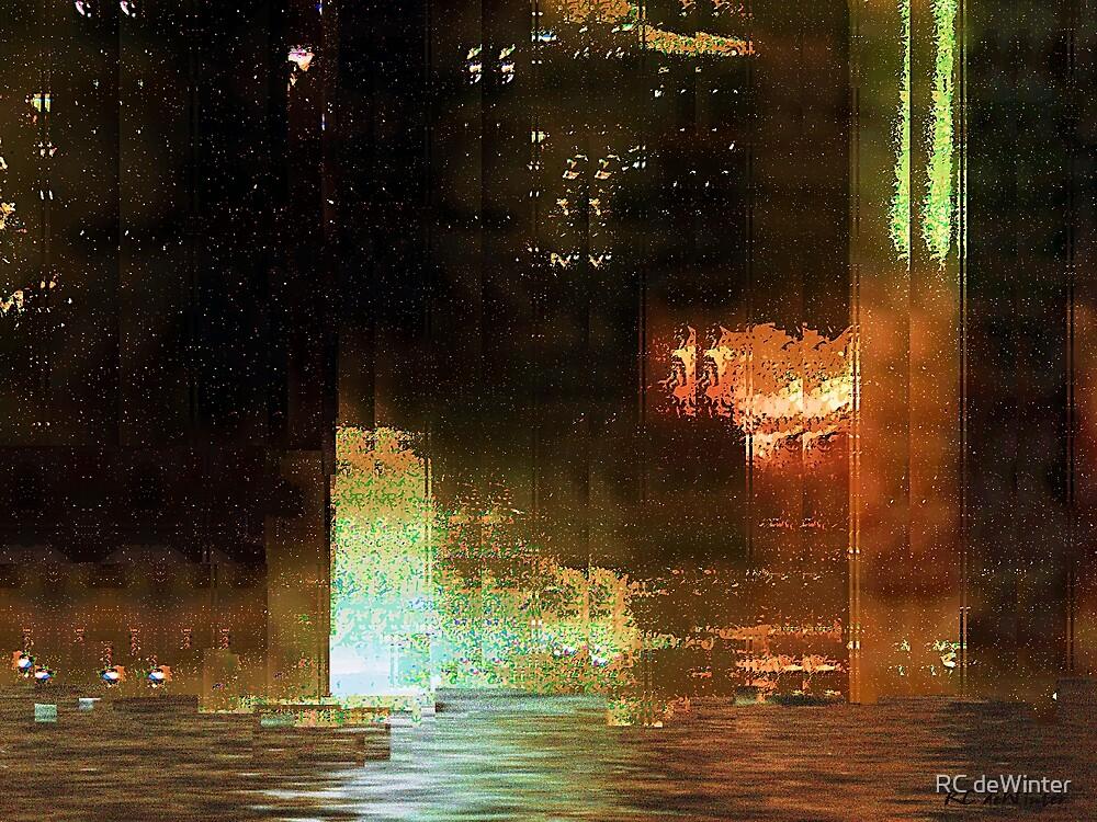 Windy City Night by RC deWinter
