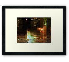 Windy City Night Framed Print